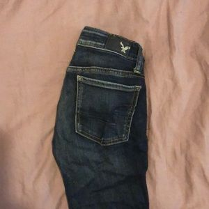 American outfitters jeans! SUPER STRETCH dark wash